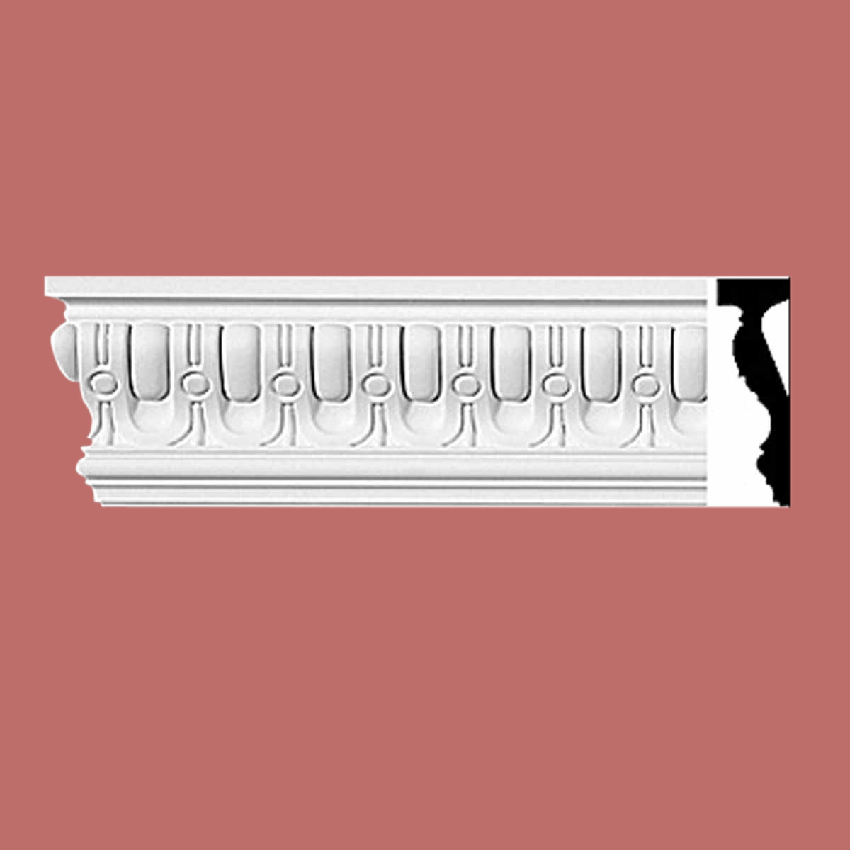 Cornice White Urethane Sample of 11635 24 Long Cornice Cornice Moulding Cornice Molding