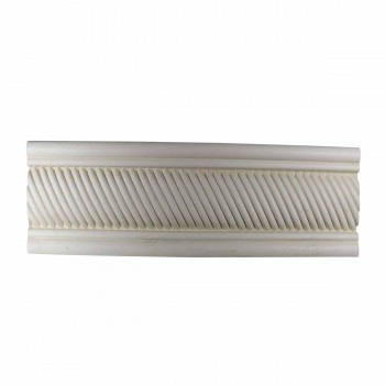 "<PRE>Crown Molding White Urethane 3"" H Harvard Square Ornate </PRE>"