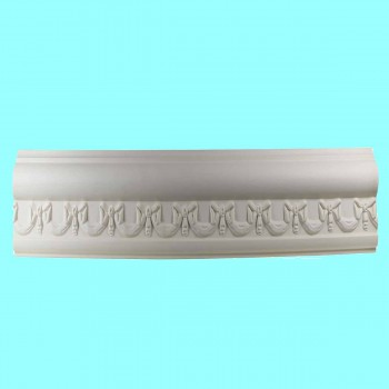 <PRE>Cornice White Urethane Sample of 11652 23.5inch Long </PRE>zoom7