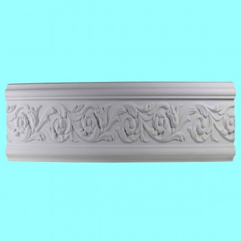 <PRE>Crown Molding White Urethane 4 3/8&quot; H Radcliff Ornate </PRE>