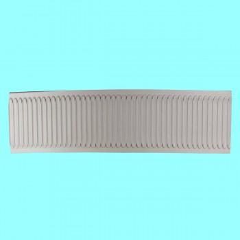 "<PRE>Crown Molding White Urethane 2"" H Summerville Ornate </PRE>zoom2"