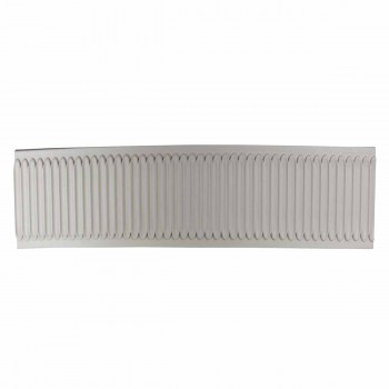 "<PRE>Crown Molding White Urethane 2"" H Summerville Ornate </PRE>zoom1"