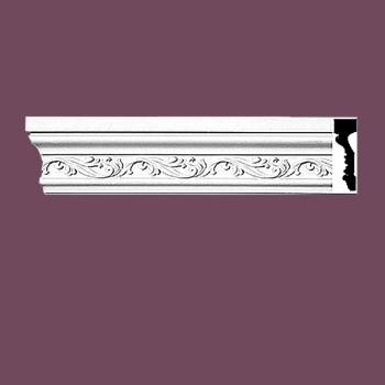 Crown Molding White Urethane  94 L  Savannah Ornate Crown Molding Crown Moldings Crown Moulding