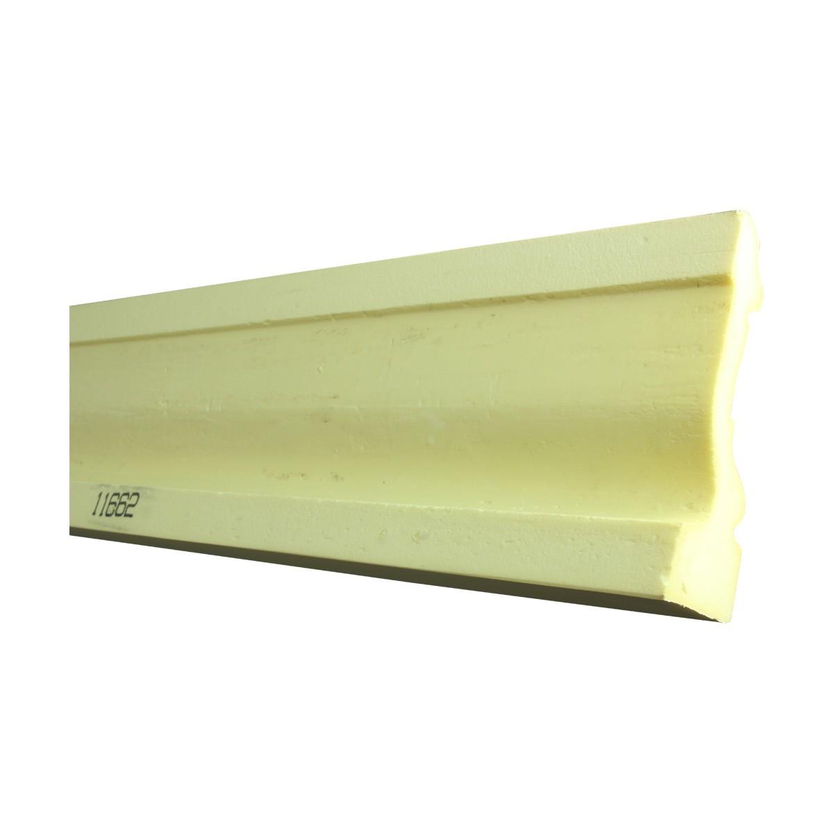 Cornice White Urethane Sample of 11662 23.5 Long Cornice Cornice Moulding Cornice Molding