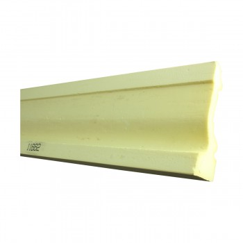 <PRE>Cornice White Urethane Sample of 11662 23.5inch Long </PRE>zoom7
