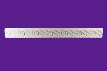 Cornice White Urethane Sample of 11668 23.5 Long Cornice Cornice Moulding Cornice Molding