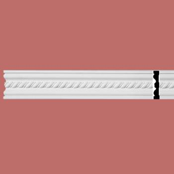 <PRE>Crown Molding White Urethane 3 7/8&quot; H Wentworth Ornate </PRE>