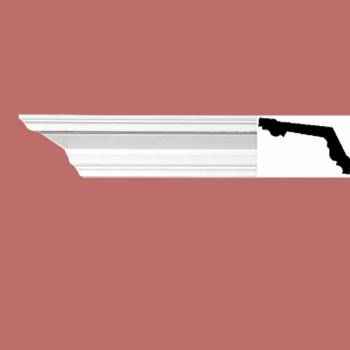 <PRE>Cornice White Urethane 2 1/4&quot; H Crown Point Simple </PRE>