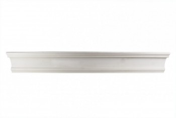 <PRE>Cornice White Urethane 1 7/8inch H Bridgeport Simple </PRE>zoom1