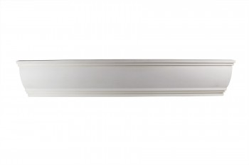 <PRE>Cornice White Urethane  94inch L Waterbury Simple </PRE>zoom1