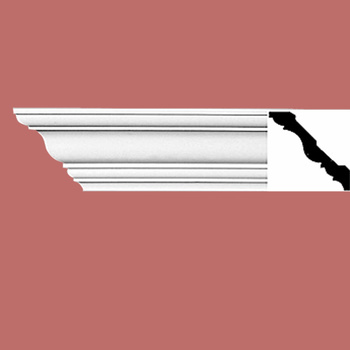 Cornice White Urethane Sample of 11763 23.5 Long Cornice Cornice Moulding Cornice Molding