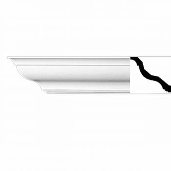 <PRE>Cornice White Urethane  94inch L  Kensington Simple </PRE>zoom1