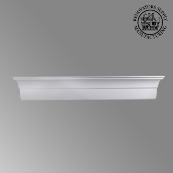 <PRE>Cornice White Urethane Sample of 11766 23.5inch Long </PRE>zoom9
