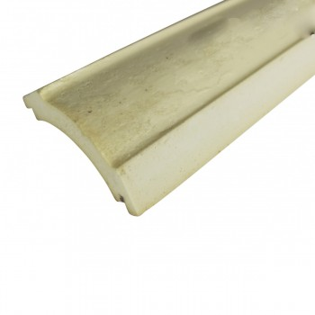 Cornice White Urethane  94 L  Waldorf Simple Simple Ceiling Crown Moulding Moulding Cornice Classy Crown Moulding White Decorative  Crown Moulding