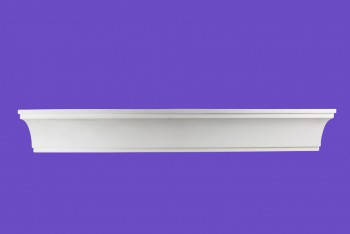 <PRE>Cornice White Urethane Sample of 11771 23.5inch Long </PRE>zoom9