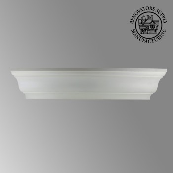 "spec-<PRE>Cornice White Urethane 6 1/4"" H Liliana Simple </PRE>"