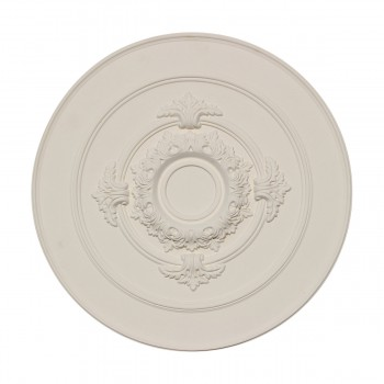 Ceiling Medallion White Urethane 17 Diameter Light Medallion Light Medallions Lighting Medallion