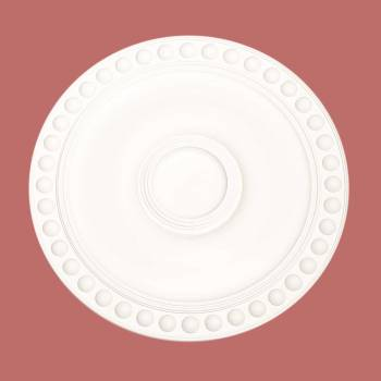 "spec-<PRE>Ceiling Medallion White Urethane 19"" Diameter </PRE>"