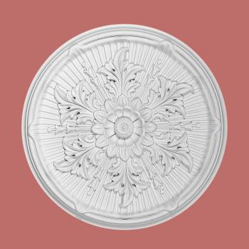 Ceiling Medallions - Ceiling Medallion Frondoso 21 in. dia. Without Center Cut by the Renovator's Supply