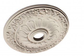 Ceiling Medallion White Urethane 24