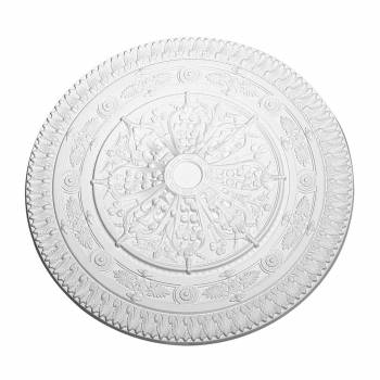 Ceiling Medallion White Urethane 38