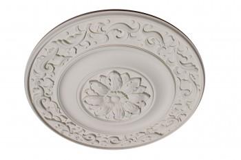 <PRE>47inch Ceiling Medallion Grand Fleur White Urethane </PRE>zoom1