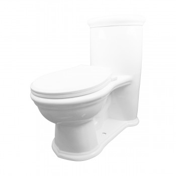 Renovator's Supply Child Small Dual Flush White Toilet Round11837grid