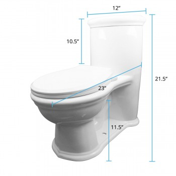 spec-<PRE>Renovator's Supply Child Small Dual Flush White Toilet Round</PRE>