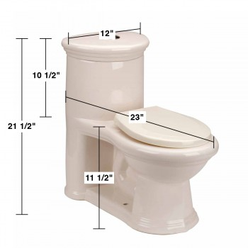 spec-<PRE>Child's Toilet Bone Round Small Toilet</PRE>