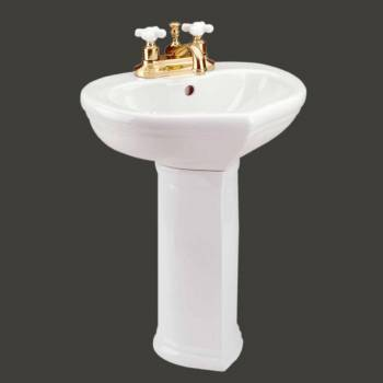 <PRE>Bathroom Pedestal White China Sweet Heart Children's 11839 </PRE>zoom2