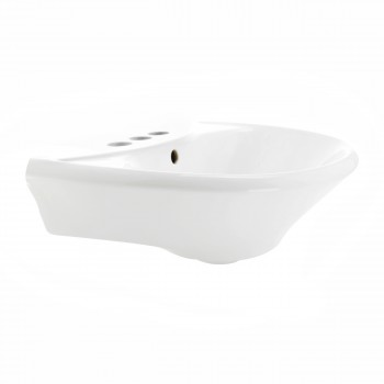 <PRE>Renovator's Supply 11863 White Bathroom Pedestal Sink</PRE>zoom10