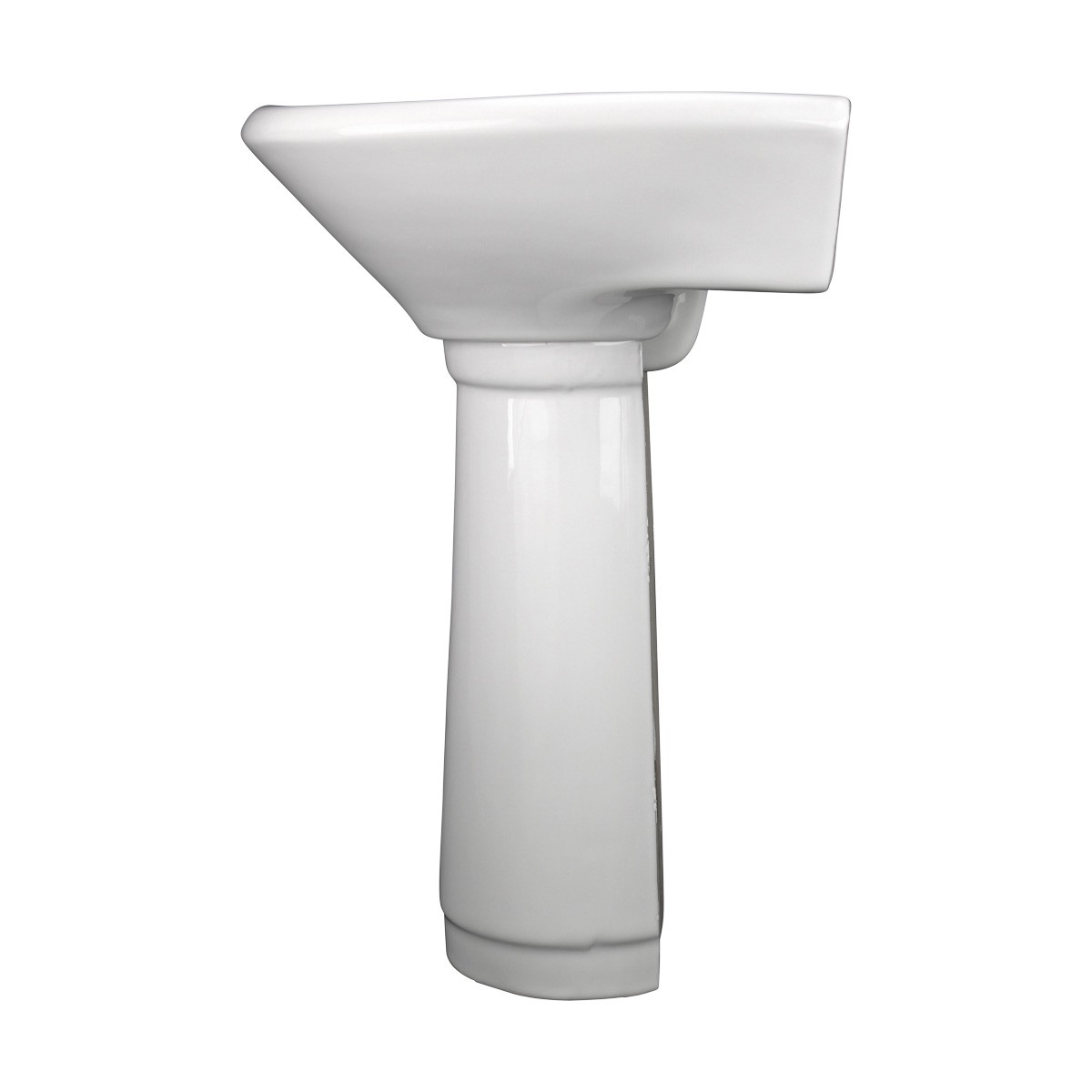 ... U003cPREu003eChild China White Mini Porcelain Pedestal Sink Toddler ...