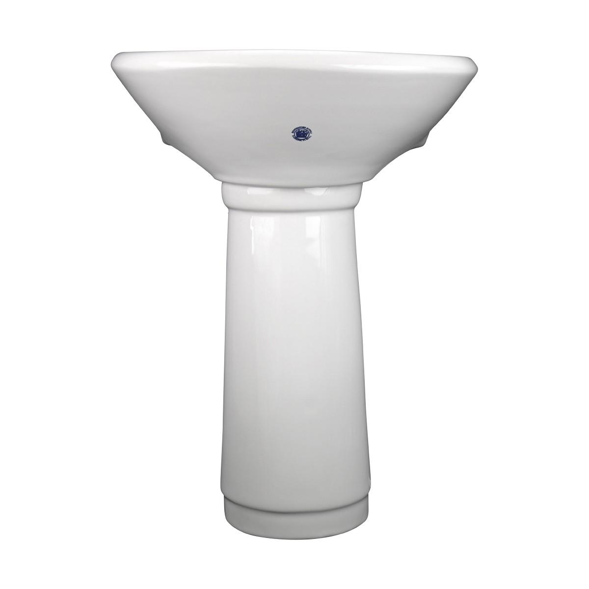 Child Porcelain White Mini Porcelain Pedestal Sink Toddler White Pedestal Sink Childrens sink modern plumbing beautiful ceramic
