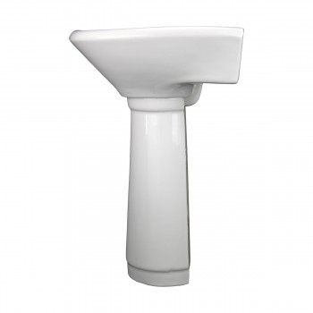 <PRE>Child China White Mini Porcelain Pedestal Sink Toddler </PRE>