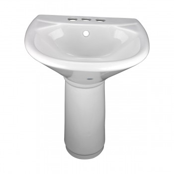 Little Tykes' Lav Child-size Pedestal Sink White