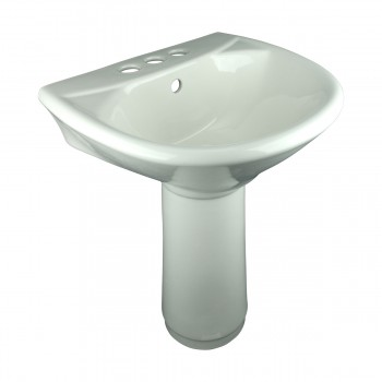 Pedestal Sinks - Little Tykes' Lav Child-size Pedestal Sink Bone by the Renovator's Supply