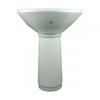 <PRE>Child Sized Smallest Pedestal Sink Grade A Vitreous Bone China </PRE>zoom3