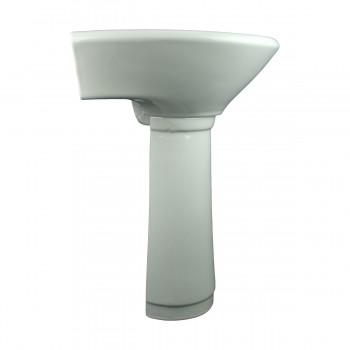 <PRE>Child Sized Smallest Pedestal Sink Grade A Vitreous Bone China </PRE>zoom4