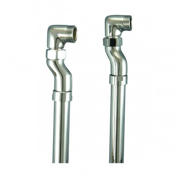 <PRE>Freestanding Clawfoot Tub Faucet Parts Supply Line Chrome </PRE>zoom6