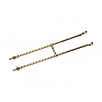 spec-<PRE>Freestanding Clawfoot Tub Faucet Parts Supply Line Gold PVD </PRE>