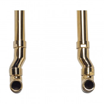 <PRE>Freestanding Clawfoot Tub Faucet Parts Supply Line Gold PVD </PRE>zoom6