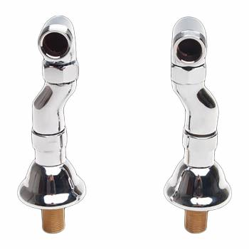 Pair Clawfoot Tub Adjustable Supply Couplers Deck Mount Clawfoot Tub Supply Couplings Clawfoot Tub Water Supply Lines Clawfoot Tub Plumbing