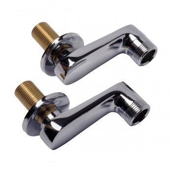 Wall Mount Swing Arm Coupler Adjustable Tub Faucet Parts Clawfoot Tub Accessories Swing Arm Clawfoot Tub Plumbing Adjustable Swing Arm Clawfoot Tub  Parts