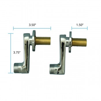 spec-<PRE>Adjustable Swing Arm Coupler Wall Mount Tub Faucet Parts </PRE>
