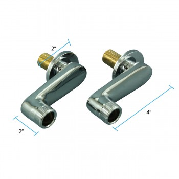 spec-<PRE>Wall Mount Swing Arm Coupler Adjustable Tub Faucet Parts </PRE>