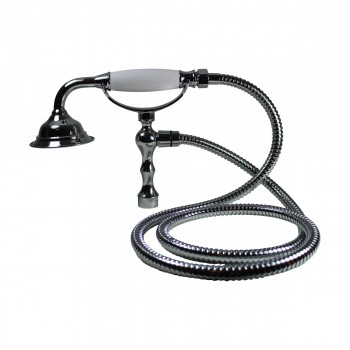 <PRE>Handheld Telephone Shower Head Set With 58in Flex Hose Chrome</PRE>zoom7