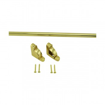 <PRE>Bright Brass Carpet Rod Holder for Stair Runner 39 5/8 Inch Length Set of 13</PRE>zoom9