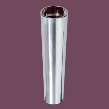 <PRE>Glass Sink Pedestal Extension Chrome Taper Leg </PRE>