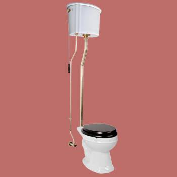 Ceramic Tank Pull Chain Toilets 12039 by the Renovator's Supply