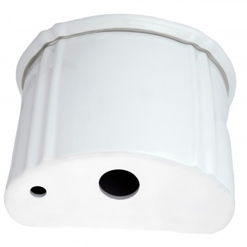 <PRE>Renovator's Supply White High Tank Toilet Round Bowl Rust Resistant Brass L-Pipe</PRE>zoom3